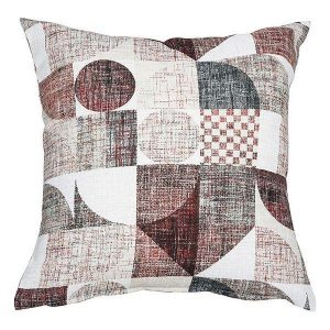 Coussin Cadre Rouge