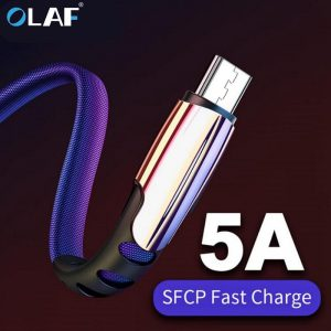 Micro USB Cable 5A Fast Charging USB Sync Data Mobile Phone Adapter Charger Cable For Samsung Xiaomi Sony HTC LG Android Cables